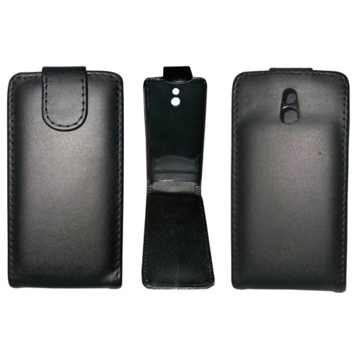 Buy Vertical Flip Leather Case for Sony LT22i (Xperia P), Black for $1.49 in SUNSKY store