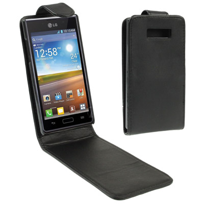 Buy High Quality Leather Case for LG Optimus L7 / P700 for $1.30 in SUNSKY store