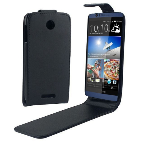 Buy For HTC Desire 510 Vertical Flip Magnetic Snap Leather Case, Black for $1.43 in SUNSKY store