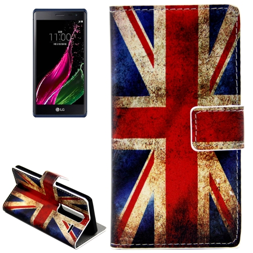 Buy the Union Jack Patterns Horizontal Flip Leather Case with Card Slots and Holder for LG Class / LG Zero for $2.44 in SUNSKY store