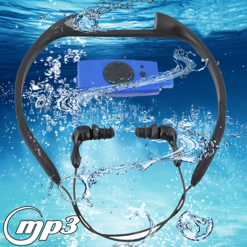 Buy 8GB Waterproof IPX8 Swimming Surfing SPA Music Sports MP3 Player with FM Radio (FS-5), Blue for $25.76 in SUNSKY store