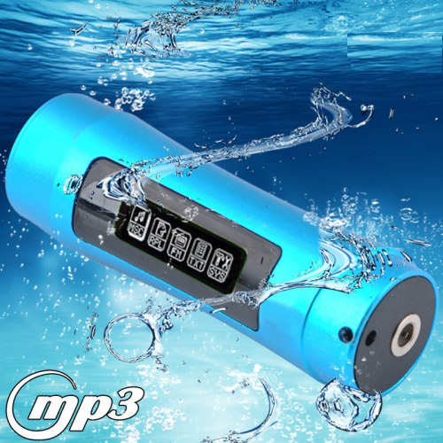Buy 8GB Waterproof IPX8 Rechargeable MP3 Player with Screen and FM Radio Function (FS-4), Blue for $24.04 in SUNSKY store