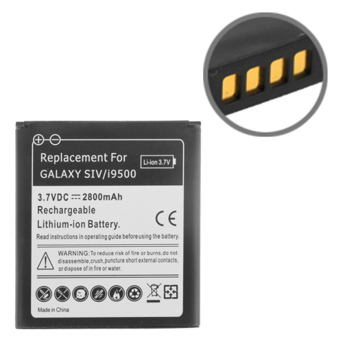 Buy 2800mAh Replacement Battery for Samsung Galaxy S IV / i9500, Black for $2.87 in SUNSKY store