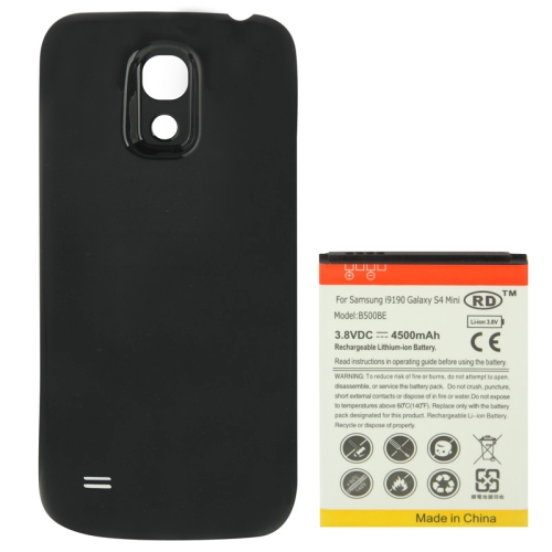 Buy 4500mAh Replacement Mobile Phone Battery & Cover Back Door for Samsung Galaxy S IV mini / i9190, Black for $6.60 in SUNSKY store
