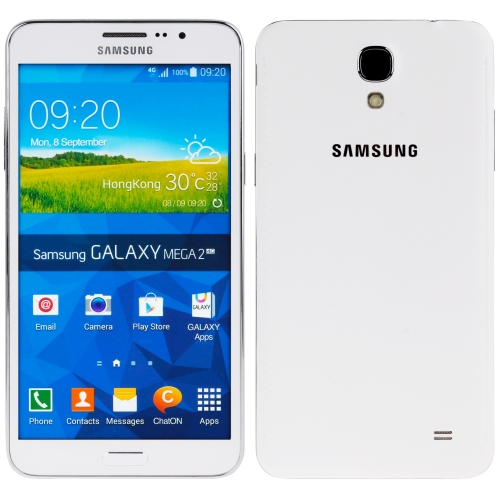 Original Color Screen Non-Working Fake Dummy, Display Model for Galaxy Mega 2(White)