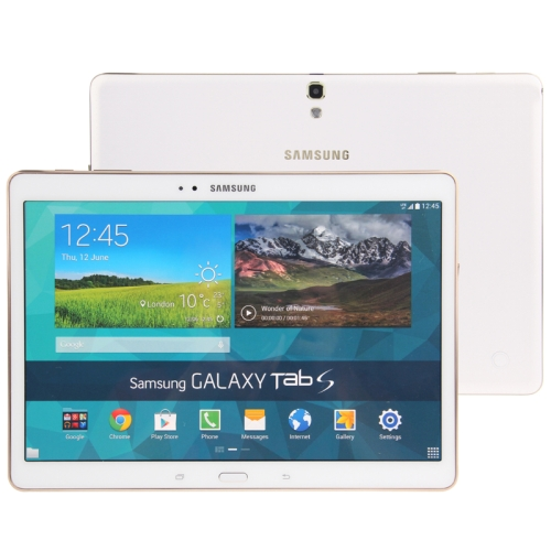 Original Color Screen Non-Working Fake Dummy, Display Model for Samsung Galaxy Tab S 10.5 / T800 (White)