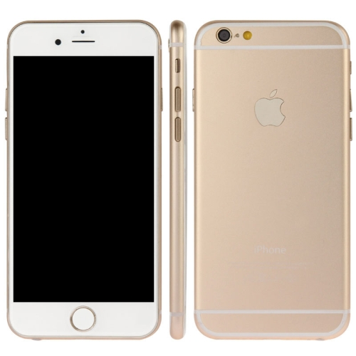 High Quality Dark Screen Non-Working Fake Dummy, 5.5 inch Display Model for iPhone 6 Plus (Gold)
