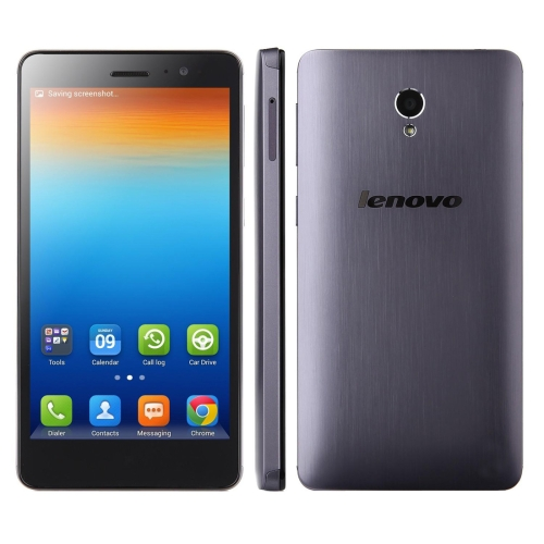 Lenovo S860, 1GB+16GB, 5.3 inch Android 4.4.2 MTK6582 Quad Core 1.3GHz, Network: 3G, Dual SIM(Grey)