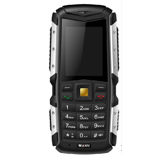 MANN ZUG S Phone, Network: 2G, Life Waterproof Dustproof Shockproof, 2.0 inch MTK6260A, Dual SIM(Grey)