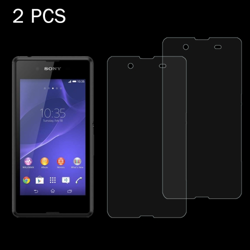 Buy 2 PCS for Sony Xperia E3 0.26mm 9H Surface Hardness 2.5D Explosion-proof Tempered Glass Screen Film for $1.23 in SUNSKY store