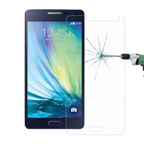 For Galaxy A5 0.26mm 9H Surface Hardness 2.5D Explosion-proof Tempered Glass Screen Film