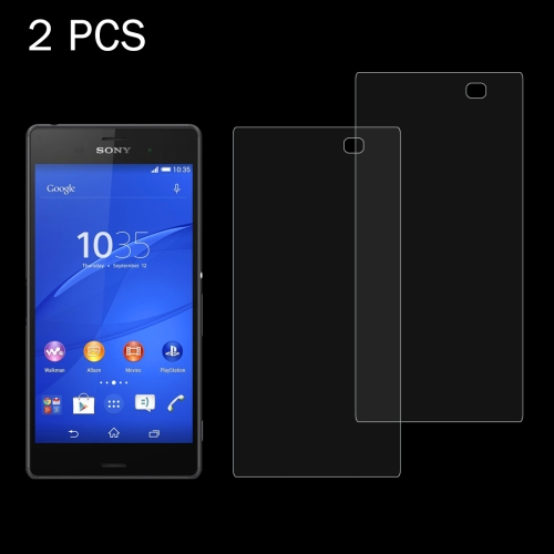 Buy 2 PCS for Sony Xperia Z4 / Z3+ 0.26mm 9H Surface Hardness 2.5D Explosion-proof Tempered Glass Screen Film for $1.21 in SUNSKY store