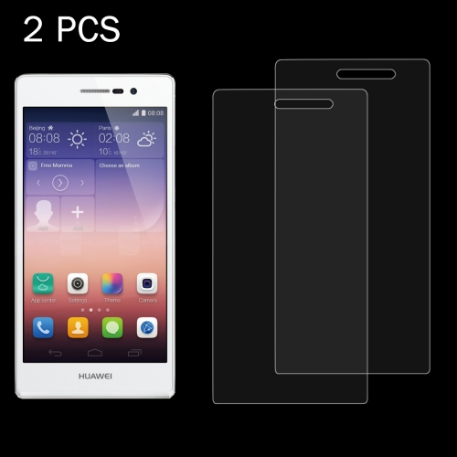 Buy 2 PCS Huawei Ascend P7 0.26mm 9H Surface Hardness 2.5D Explosion-proof Tempered Glass Screen Film for $1.24 in SUNSKY store
