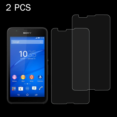 Buy 2 PCS for Sony Xperia E4G 0.26mm 9H Surface Hardness 2.5D Explosion-proof Tempered Glass Screen Film for $1.24 in SUNSKY store