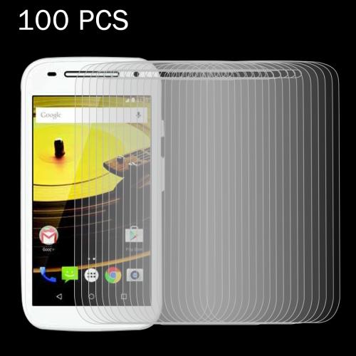 Buy 100 PCS for Motorola Moto E2 (Moto E 2nd Gen) 0.26mm 9H Surface Hardness 2.5D Explosion-proof Tempered Glass Screen Film for $27.67 in SUNSKY store