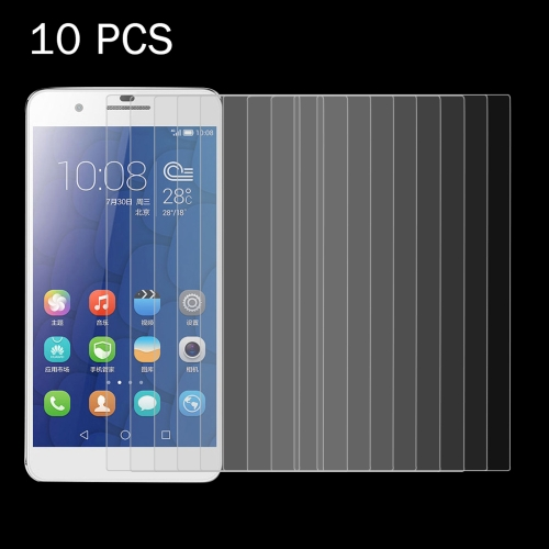 Buy 10 PCS Huawei Honor 6 Plus 0.26mm 9H Surface Hardness 2.5D Explosion-proof Tempered Glass Screen Film for $4.92 in SUNSKY store