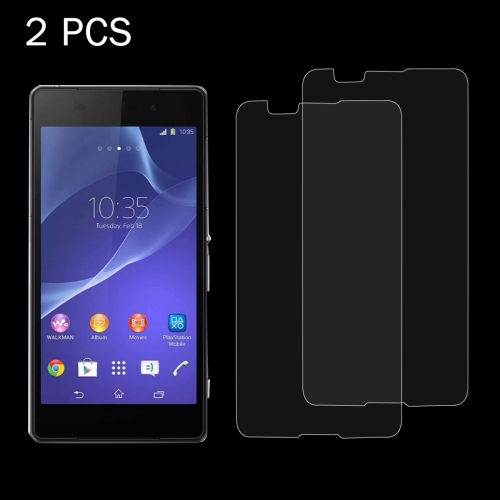 Screen Protector Film 100 PCS for Sony Xperia E4G 0.26mm 9H Surface Hardness 2.5D Explosion-Proof Tempered Glass Screen Film Tempered Glass Film