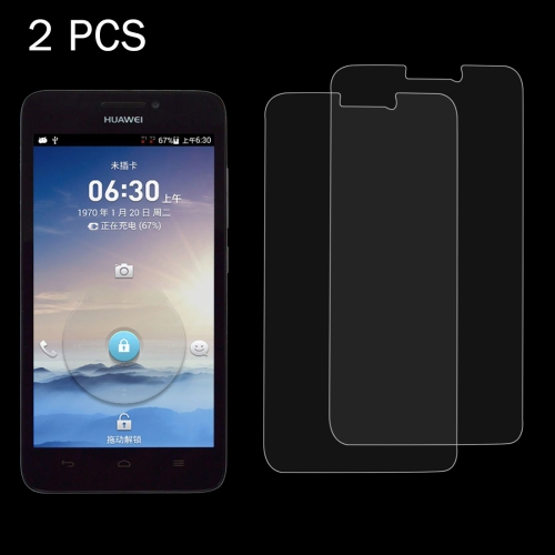 Buy 2 PCS for Huawei Ascend G630 0.26mm 9H Surface Hardness 2.5D Explosion-proof Tempered Glass Screen Film for $1.24 in SUNSKY store