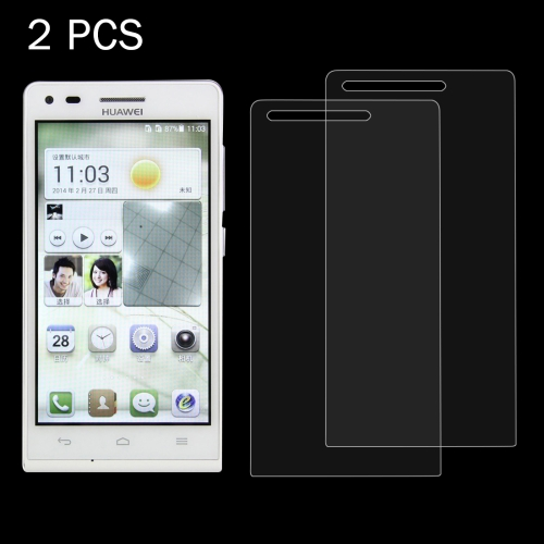 Buy 2 PCS Huawei Ascend G6 / P6 0.26mm 9H Surface Hardness 2.5D Explosion-proof Tempered Glass Screen Film for $1.24 in SUNSKY store