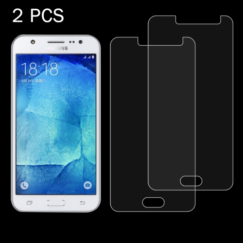 Buy 2PCS for Samsung Galaxy J5 / J500 0.26mm 9H+ Surface Hardness 2.5D Explosion-proof Tempered Glass Film for $1.21 in SUNSKY store