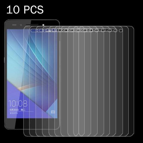 Buy 10 PCS Huawei Honor 7 0.26mm 9H Surface Hardness 2.5D Explosion-proof Tempered Glass Screen Film for $4.74 in SUNSKY store