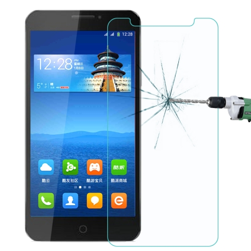 Coolpad Dazen F2 / 8675-HD 0.26mm 9H+ Surface Hardness 2.5D Explosion-proof Tempered Glass Film