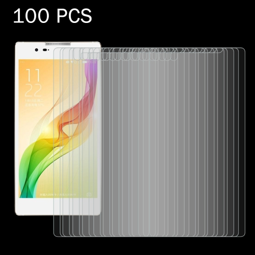 100 PCS Coolpad Dazen X7 / 8690 0.26mm 9H Surface Hardness 2.5D Explosion-proof Tempered Glass Screen Film