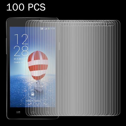 Buy 100 PCS Coolpad Dazen F1 / 8297 0.26mm 9H Surface Hardness 2.5D Explosion-proof Tempered Glass Screen Film for $31.93 in SUNSKY store
