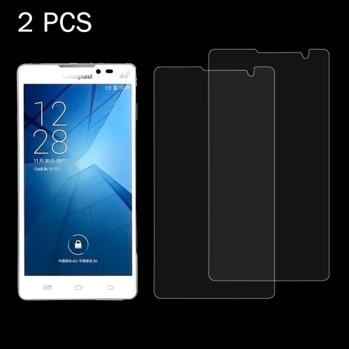 Buy 2 PCS Coolpad 8730 0.26mm 9H Surface Hardness 2.5D Explosion-proof Tempered Glass Screen Film for $1.23 in SUNSKY store