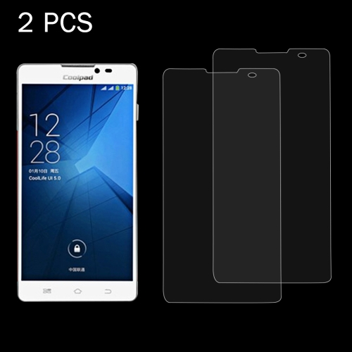 Buy 2 PCS Coolpad 5951 0.26mm 9H Surface Hardness 2.5D Explosion-proof Tempered Glass Screen Film for $1.27 in SUNSKY store