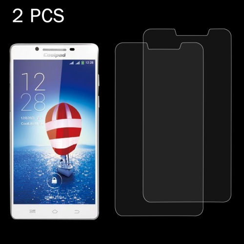 Buy 2 PCS Coolpad S6 0.26mm 9H Surface Hardness 2.5D Explosion-proof Tempered Glass Screen Film for $1.23 in SUNSKY store