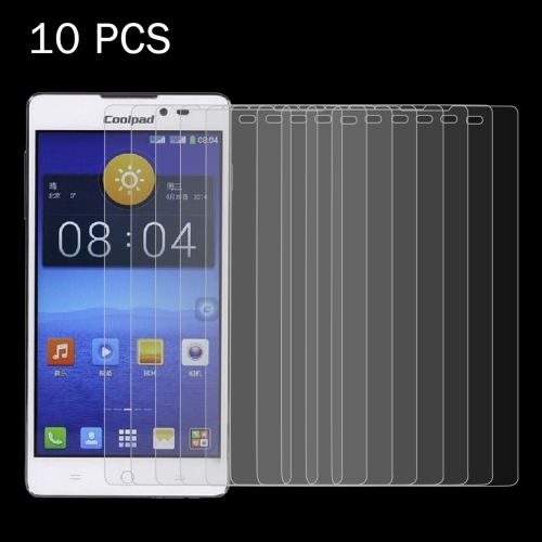 10 PCS Coolpad T1 0.26mm 9H Surface Hardness 2.5D Explosion-proof Tempered Glass Screen Film