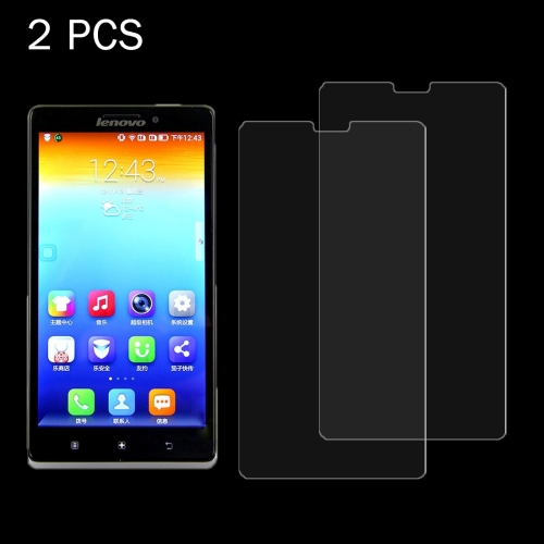 2 PCS Lenovo Vibe Z / K910 0.26mm 9H Surface Hardness 2.5D Explosion-proof Tempered Glass Screen Film