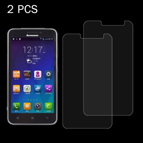 Buy 2 PCS Lenovo A606 0.26mm 9H Surface Hardness 2.5D Explosion-proof Tempered Glass Screen Film for $1.24 in SUNSKY store