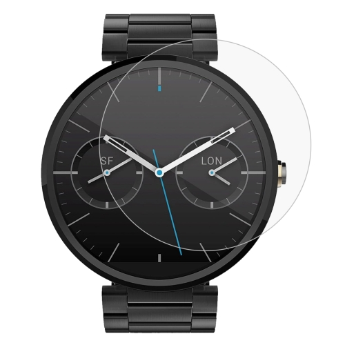 Buy ENKAY Hat-Prince 0.2mm 9H Surface Hardness 2.15D Curved Explosion-proof Tempered Glass Screen Film for Motorola Moto 360 (1st Gen.) 46mm for $1.37 in SUNSKY store