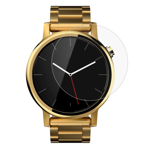 Buy ENKAY Hat-Prince 0.2mm 9H Surface Hardness 2.15D Curved Explosion-proof Tempered Glass Screen Film for Motorola Moto 360 (2nd Gen) 42mm for $1.37 in SUNSKY store