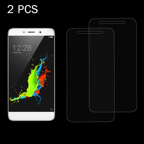 Buy 2 PCS Coolpad Dazen Note 3 0.26mm 9H+ Surface Hardness 2.5D Explosion-proof Tempered Glass Film for $1.27 in SUNSKY store