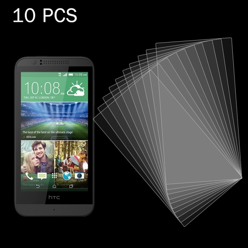 Buy 10 PCS for HTC Desire 510 0.26mm 9H+ Surface Hardness 2.5D Explosion-proof Tempered Glass Film for $5.39 in SUNSKY store