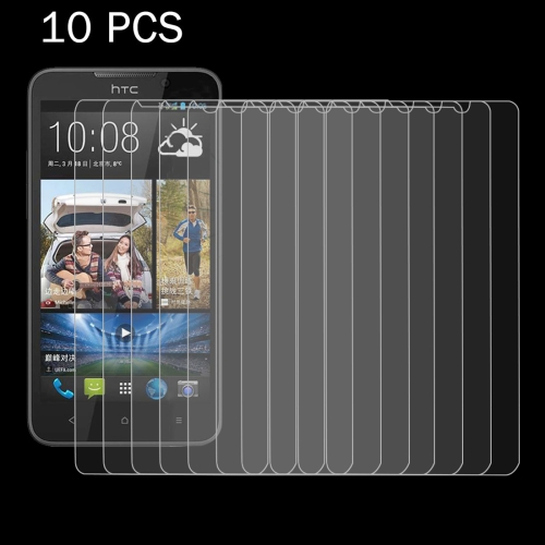10 PCS for HTC Desire 516 0.26mm 9H+ Surface Hardness 2.5D Explosion-proof Tempered Glass Film
