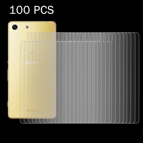 Buy 100 PCS for Sony Xperia M5 0.26mm 9H+ Surface Hardness 2.5D Explosion-proof Tempered Glass Back Screen Film for $29.89 in SUNSKY store
