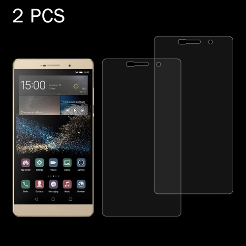 Buy 2 PCS Huawei P8 Max 0.26mm 9H+ Surface Hardness 2.5D Explosion-proof Tempered Glass Film for $1.65 in SUNSKY store