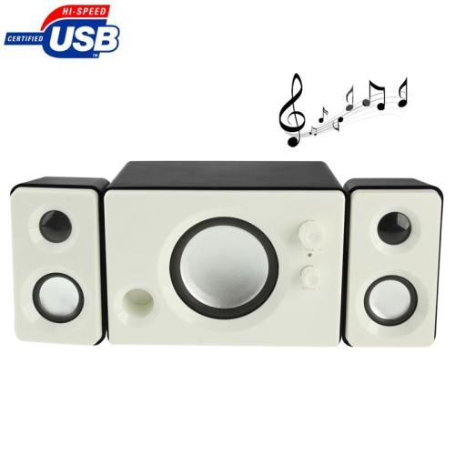 Buy YX-202 2.1 Multimedia Speaker / Stereo Speaker with Volume Switch & Bass for $14.59 in SUNSKY store