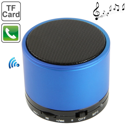 S10 Mini Bluetooth Speaker, Built-in Rechargeable Battery, Support Handsfree Call(Blue)