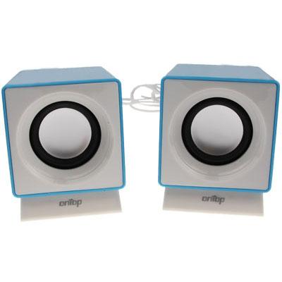 Buy FX-152 USB 2.0 Mini Computer 3D Stereo Loudspeaker Speaker for $3.40 in SUNSKY store