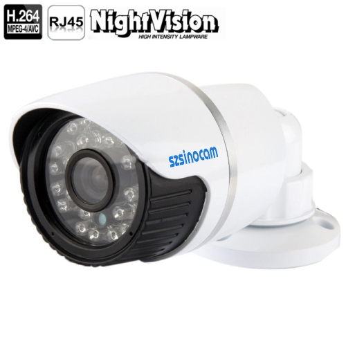 Buy szsinocam H.264 1.0 Mega Pixel Infrared 720P IP Camera, 4.0mm Fixed Focal Lens, Support RTSP Compatible with VLC Media Player / P2P and PnP function for optional for $24.61 in SUNSKY store
