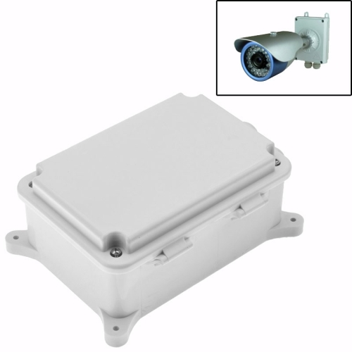 Buy Security Surveillance Cameras Plastic Waterproof Power Supply Box, Size: 17cm x 11.5cm x 7.5cm, White for $3.64 in SUNSKY store