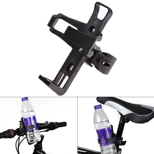 Rotatable Universal Plastic Portable Drinking Cup Water Bottle Cage Holder Bottle Carrier Bracket Stand for Bike, Random Color Delivery motorcycle bike water bottle holder cage w adjustable button black grey