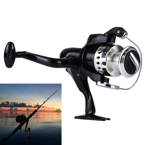 Buy 4 Ball Bearings Gear Ratio 5.1:1 Fishing Spinning Reel for $6.11 in SUNSKY store