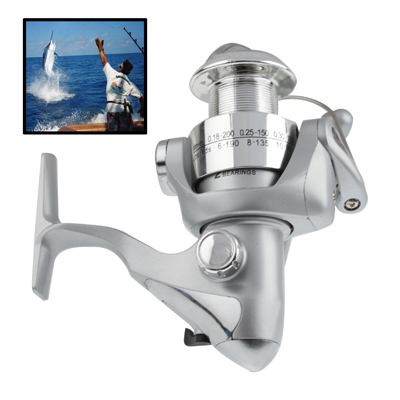 Buy 2 Ball Bearings Gear Ratio 5.1:1 Fishing Spinning Reel for $7.07 in SUNSKY store