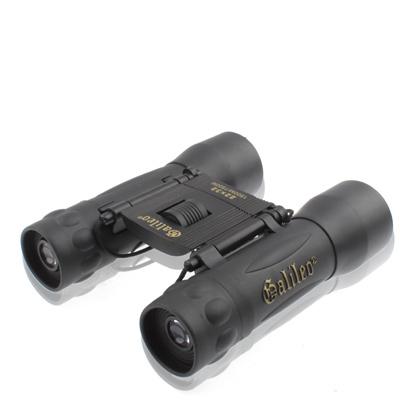 22x32mm Black Coated Telescope Binoculars with Neck Strap